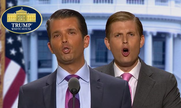 Don Jr. & Eric: High-IQ Crotchfruit