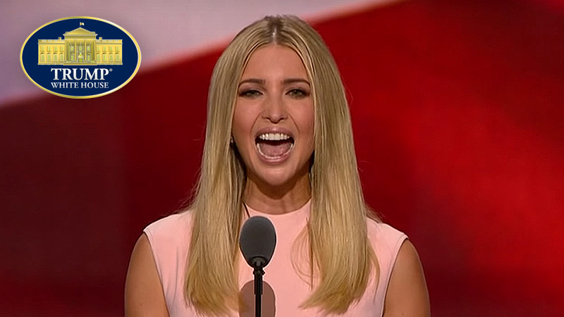 Ivanka® Trump: First Lady-Daughter