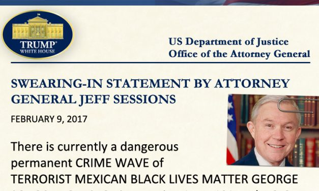 Swearing-In Statement: Attorney General Jeff Sessions