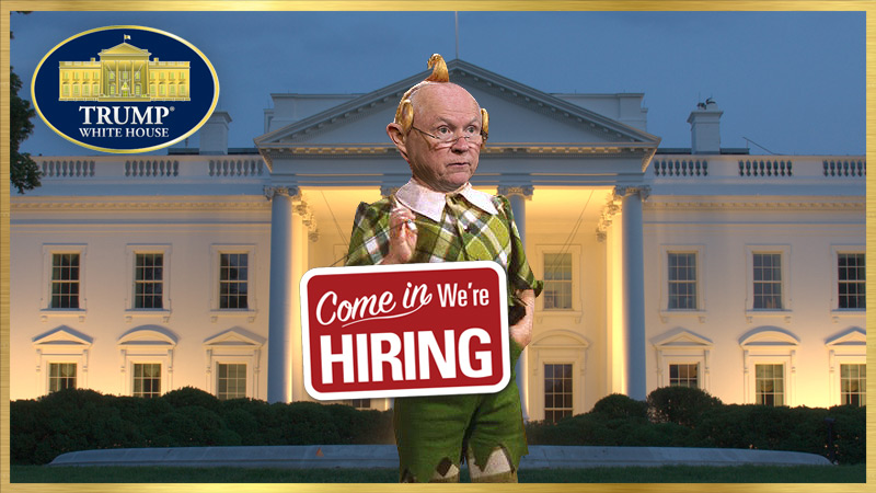 NOW HIRING: BACKUP U.S. ATTORNEY GENERAL