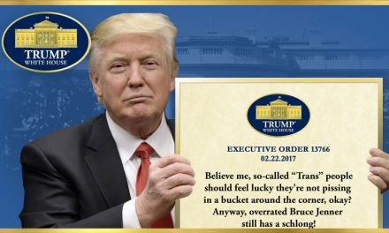Executive Order On Gender Urination Stagefright
