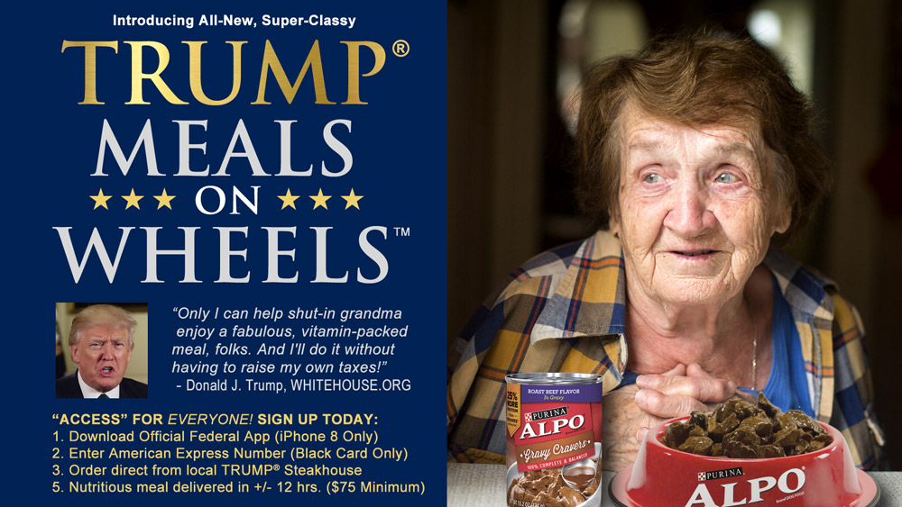 Trump Meals on Wheels
