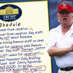 President's Weekly Vacation Schedule