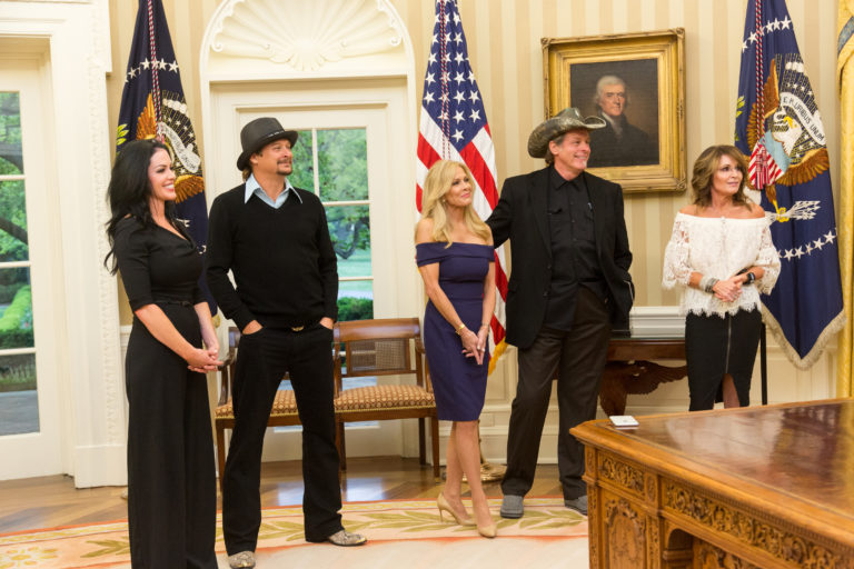 Kid Rock & Ted Nugent Oval Office