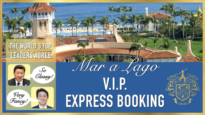 Mar-a-Lago VIP Express Booking