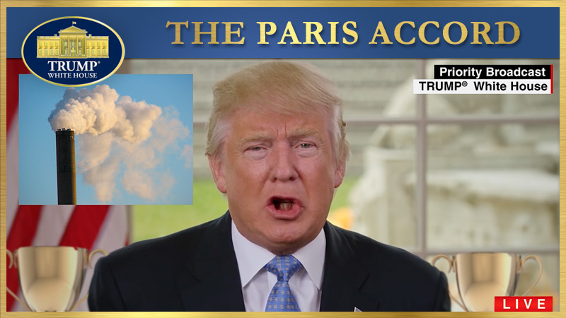 The Paris Accord Presidential Statement