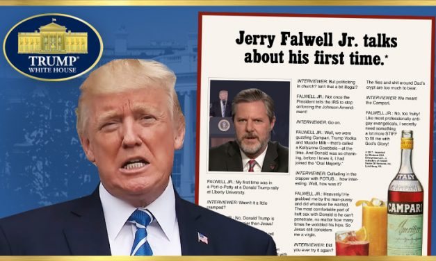 Celebrating #RealNews Pundit Jerry Falwell, Jr.